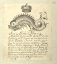 Trade Ephemera from 1654 to the 1860 / Bodleian Library