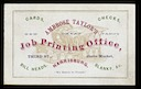 Ambrose Taylor's Job Printing Office