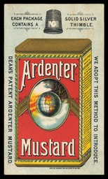 Ardenter Mustard (solid silver thimble)