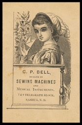 C. P. Bell / Sewing Machines and Musical Instruments