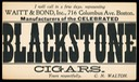 Waitt & Bond / Blackstone Cigars