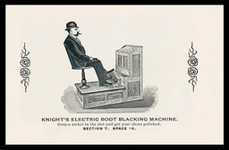 Knight's Electric Boot Blacking Machine