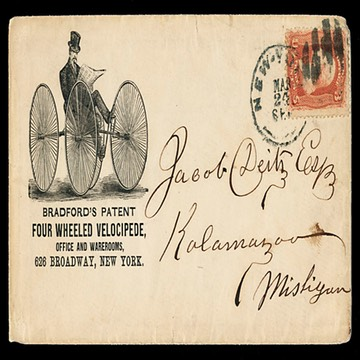 Bradford's Four Wheeled Velocipede