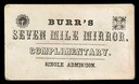 Burr's Seven Mile Mirror