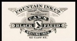 Fountain Ink Company / Caw's