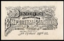Mme Demorest's Emporium of Fashions