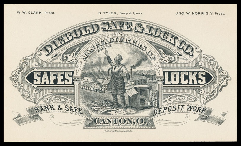 Diebold Safe & Lock Company   Sheaff : ephemera