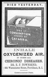 Dr. E. F. Townsend, Oxygenated Air