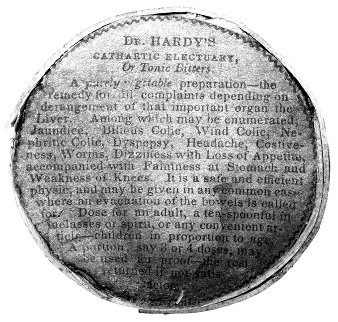 DrHardysCatharicElectuary(B-W)150