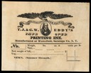 T.J. & G.W. Eddy's Improved Printing Ink