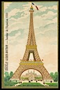 Eiffel Tower / Exposition Universelle, Paris 1889
