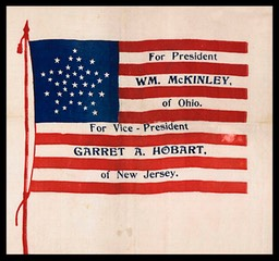McKinley / Hobart campaign flag