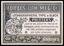 Forbes Litho. Manufacturing Company