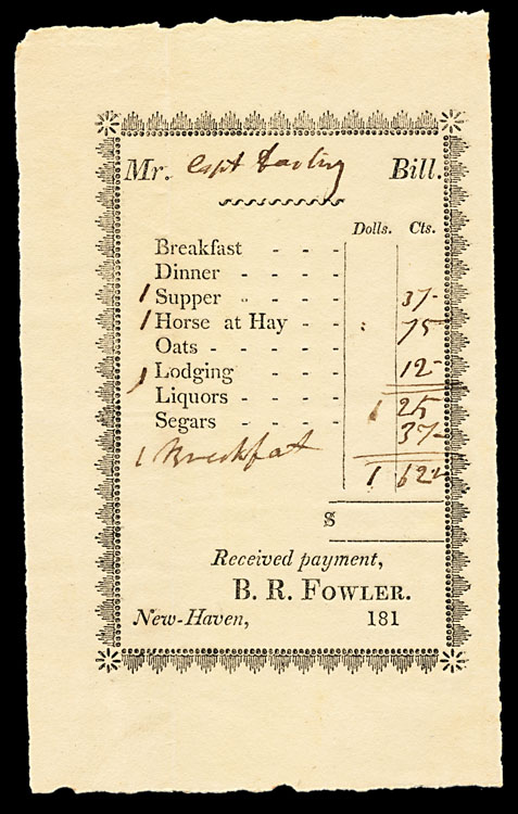 FowlerLodgingInvoice150