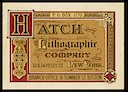 Hatch Lithographic Company