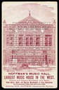 Hoffman's Music Hall