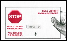Hold On Tight! Do Not Discard!
