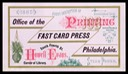 Howell Evans / Fast Card Press