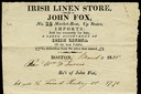 John Fox / Irish Linen Store
