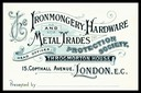 The Ironmongery, Hardware and Metal Trades Protection Society