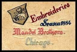 Mandel Brothers, Embriodery