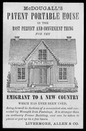 Livermore, Allen & Company / McDougall's Patent Portable House