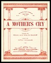 """A Mother's Cry"" / F. Trifet"