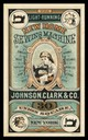 Johnson, Clark & Company / New Home Sewing Machine