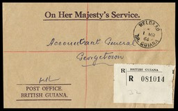 British Guiana Official Mail