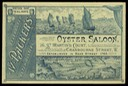 Oyster Saloon / W. Packer's Dutch Oysters