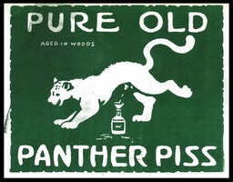 Pure Old Panther Piss, Aged In Woods