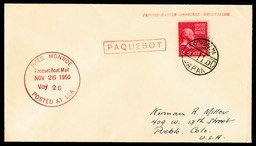 Paquetboat mail cover
