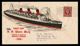 S. S. Queen Mary Maiden Voyage