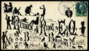 Cover from Chicago addressed to Rueben Ring, Esq., Boston