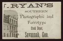 Ryan's Southern Photographic and Ferrotype Stock Depot