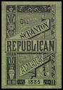 The Scranton Republican Alamanac 1885