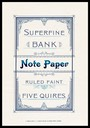 Superfine Bank Note Paper