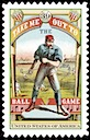 """Take Me Out To The Ball Game"" United States postage stamp"