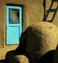 Taos Pueblo (Arizona) Oven and Door