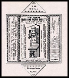 Charles W. Horn / Telephone Worm Tablets