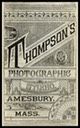 Thompson's Photographic Studio