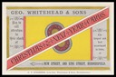 Geo. Whitehead & Sons