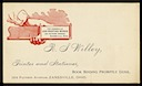 R. S. Willey / Zanesville Job Printing Works